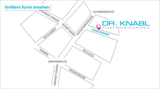 Anfahrt Dr. Knabl Wien